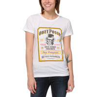 Obey Troublemakers White Tee Shirt at Zumiez : PDP
