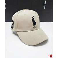 Polo Ralph Lauren Classic Women Men Embroidery Sports Sun Hat Baseball Cap Hat 1#