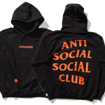 DCCK8H2 Undefeated Anti Social Social Club Lover Fashion Print Top Sweater Pullover Hoodie