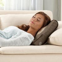 3D Shiatsu and Vibration Massage Pillow with Heat