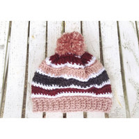 Strawberry Shake Winter Beanie