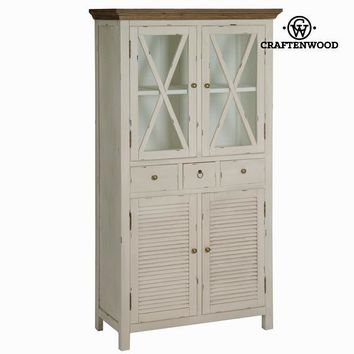 Display cabinet 4 doors - Winter Collection by Craften Wood