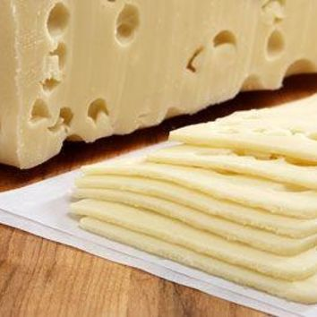 1 lb. Sarge's Domestic Swiss Cheese