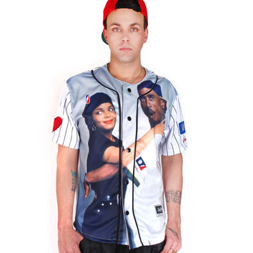 POST GAME Justice Baseball Jersey Tee