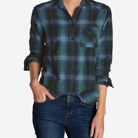 Women's Stine's Favorite Flannel Shirt - One-pocket Boyfriend | Eddie Bauer