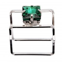 Crystal Jewel Box Ring