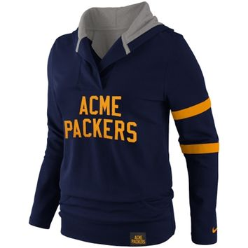 Nike Acme Packers Ladies Play Action Hoodie - Navy Blue
