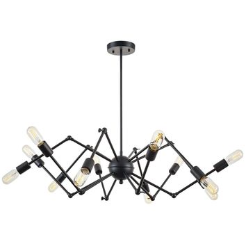 Arachnid Chandelier in Black