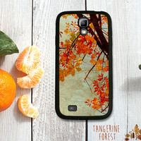 Beautiful Orange Fall Leaves Case. Choose Samsung Galaxy S3, S4 or S5!