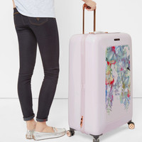 Hanging Gardens large suitcase - Nude Pink | Bags | Ted Baker ROW
