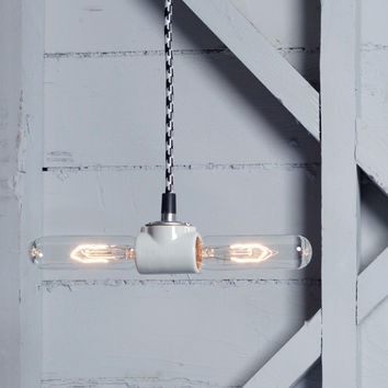 Industrial Pendant Light - Double Socket
