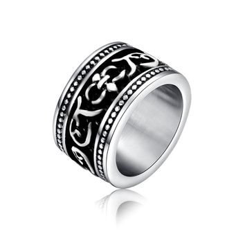 Gift Jewelry Shiny New Arrival Stylish Titanium Fashion Strong Character Accessory Ring [6542632195]
