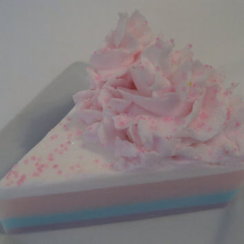 Cotton Candy  Shea Butter Glycerin soap