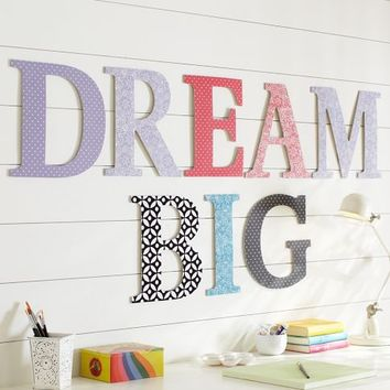Pick Your Print Wall Letters