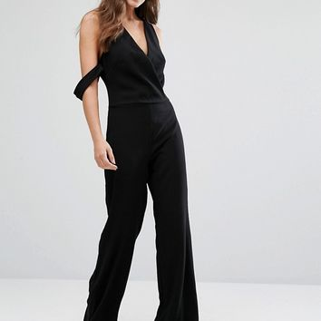 Bec & Bridge Black Orchid Jumpsuit at asos.com