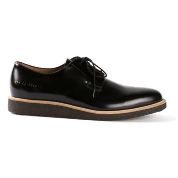 Common Projects wedge heel Derby shoes