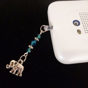 Mobile Charm, Beaded Dust Plug Cover, Mobile Accessories, Cellphone Accessories