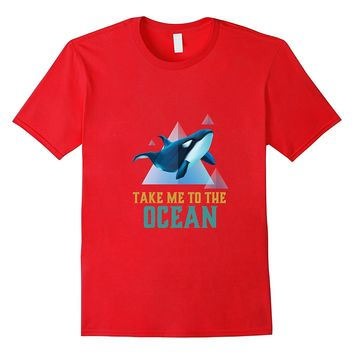 Save Killer Whale T-shirt for Orca or Sea Panda Animal Lover