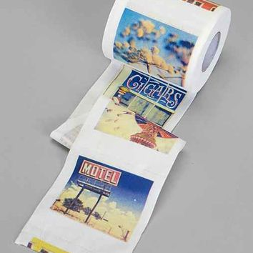Polaroll Printed Toilet Paper- Multi One