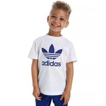 ADIDAS Children Boy Girl Casual Shirt Top Tee-1