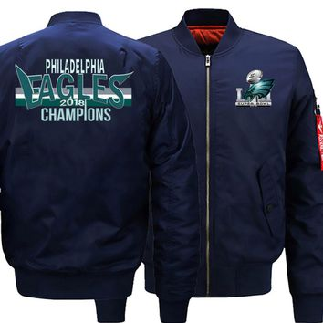 Philadelphia Eagles Men's Ma-1 Bomber Jacket | Flight Jacket (3 Colors)