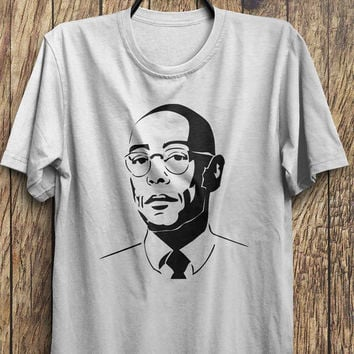 Gus Portrait - Breaking Bad T Shirts - Jesse Pink, Heisenberg tee shirts, Black Friday, Boxing day, Christmas Blowout Clearance Sale