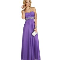 Kallie-lavender Prom Dress