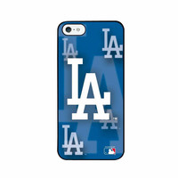 Iphone 44S MLB Los Angeles Dodgers 3D Logo Case
