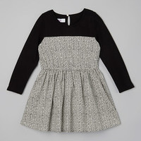 Black Zigzag Dress - Toddler & Girls | Something special every day
