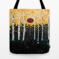:: Red Moon Love Song :: Tote Bag by :: GaleStorm Artworks ::