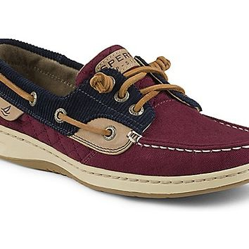 Ivyfish Quilted 3-Eye Boat Shoe