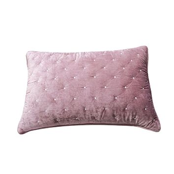 Tache Purple Mauve Velvety Dreams Plush Diamond Tufted Pillow Sham (JHW-853P)