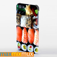 Funny Sushi Box iPhone 4/4S, 5/5S, 5C Series Full Wrap Case