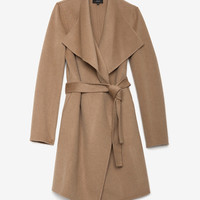 Joseph Belted Open Placket Coat-Jackets + Outerwear-Clothing-Categories- IntermixOnline.com