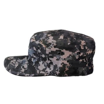 HOT New Unisex Men Women Camo Camouflage Patrol Hat Army Caps Gorras Snapback Baseball Cap Trucker casquette