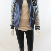 """B"" for Beautiful Letterman's Jacket"