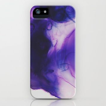Violet Aura iPhone Case by duckyb