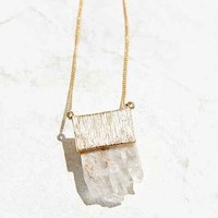 Crystal Alps Pendant Necklace