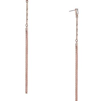 Mikki Rose Gold-Tone Tassel Earrings at Guess