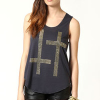 Cameron Studded Cross
