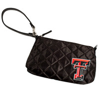 Texas Tech Red Raiders NCAA Quilted Wristlet (Black)