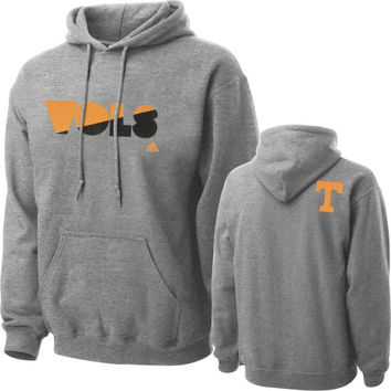 adidas Tennessee Volunteers Gray XL Mascot Name Hooded Sweatshirt