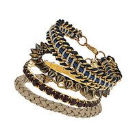 Spike and chain bracelet pack - Fashion Jewellery  - Accessories