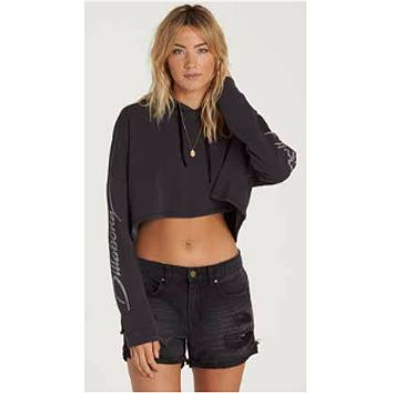 Billabong Women's Coast Ryder Denim Shorts | Black Pebble