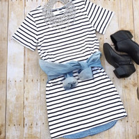 Girl on the Go Striped Dress