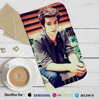 Andrew Garfield Leather Wallet iPhone 4/4S 5S/C 6/6S Plus 7| Samsung Galaxy S4 S5 S6 S7 NOTE 3 4 5| LG G2 G3 G4| MOTOROLA MOTO X X2 NEXUS 6| SONY Z3 Z4 MINI| HTC ONE X M7 M8 M9 CASE