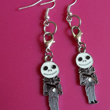 Nightmare Before Christmas Jack Earrings