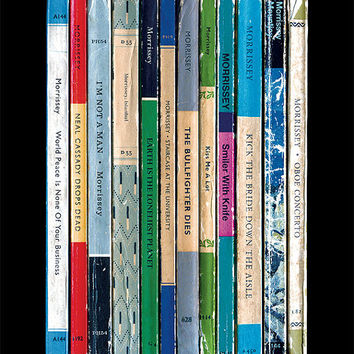 Morrissey World Peace Is None Of Your Business Album As Penguin Books Poster Print | The Smiths | Literary Print