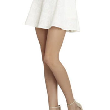 Cargo A-line Skirt in White/Tan - BCBGeneration