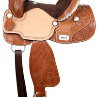 Saddles Tack Horse Supplies - ChickSaddlery.com Double T Barrel Saddle With Flex Tree